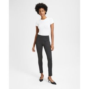 NWT Theory Knit Twill Pull-On Legging Charcoal XS